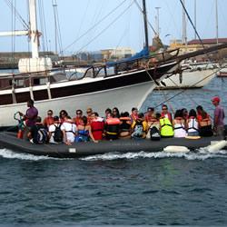 Sailing in Cape Verde